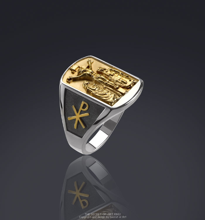 Ro On Gold Jewellery Ring