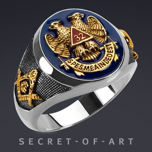 Freemason Shriner Rings